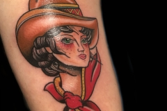 Cowgirl Tattoo