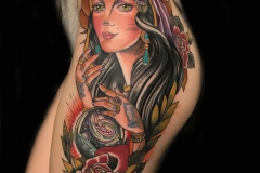 Gypsy Girlhood with Space Tattoo